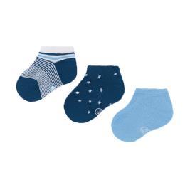 Βρεφικές Κάλτσες Σετ Mayoral 21-10009-052 Μπλε Αγόρι