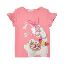 Παιδική Μπλούζα Mayoral 21-03019-024 Σομόν Κορίτσι