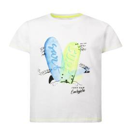 Παιδική Μπλούζα Energiers 12-221132-5 Λευκό Αγόρι