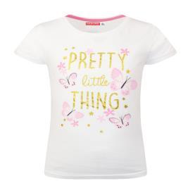 Παιδική Μπλούζα Energiers 15-221366-5 Λευκό Κορίτσι
