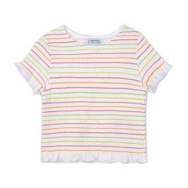 Παιδική Μπλούζα Mayoral 21-03008-024 Λευκό Κορίτσι