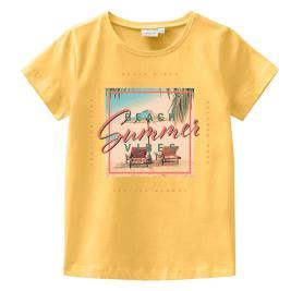 Παιδική Μπλούζα Name It 13189012 Κίτρινο Κορίτσι