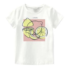Παιδική Μπλούζα Name It 13189012 Λευκό Κορίτσι