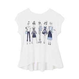 Παιδική Μπλούζα Mayoral 21-06005-031 Λευκό Κορίτσι