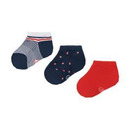 Βρεφικές Κάλτσες Σετ Mayoral 21-10009-051 Κοραλί Αγόρι