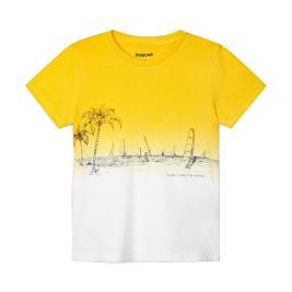 Παιδική Μπλούζα Mayoral 21-03035-062 Κίτρινο Αγόρι