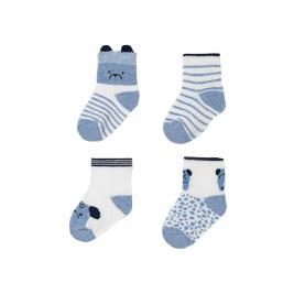 Βρεφικές Κάλτσες Σετ Mayoral 21-09360-074 Γαλάζιο Αγόρι