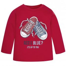 Βρεφική Μπλούζα Mayoral 2036 Κόκκινο Αγόρι