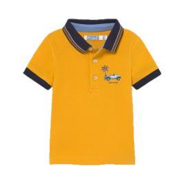 Βρεφική Μπλούζα Mayoral 21-01104-026 Μουσταρδί Αγόρι