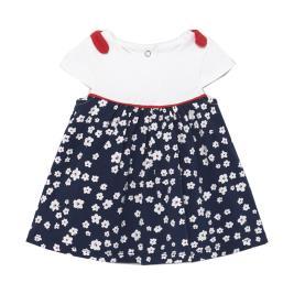 Βρεφικό Φόρεμα Mayoral 21-01837-010 Μπλε Κορίτσι