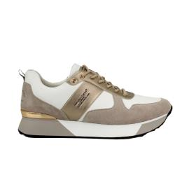 Γυναικείο Sneaker Renato Garini RG2262 Λευκό Μπεζ