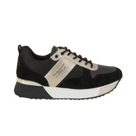 Γυναικείο Sneaker Renato Garini RG2262 Μαύρο Χρυσό