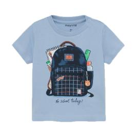 Βρεφική Μπλούζα Mayoral 21-01011-023 Σιέλ Αγόρι