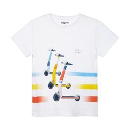 Παιδική Μπλούζα Mayoral 21-03037-026 Λευκό Αγόρι