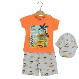 Βρεφικό Σετ-Σύνολο Hashtag 214602 Πορτοκαλί Αγόρι