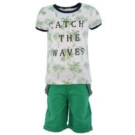 Παιδικό Σετ-Σύνολο Hashtag 214823 Λευκό Πράσινο Αγόρι