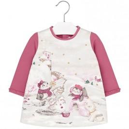 Βρεφικό Φόρεμα Mayoral 2900 Ροζ Κορίτσι