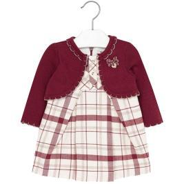 Βρεφικό Φόρεμα Mayoral 2944 Βυσσινί Κορίτσι