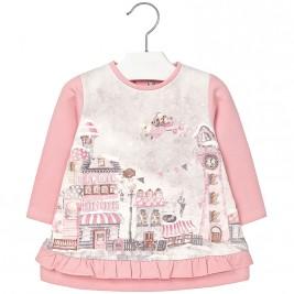 Βρεφικό Φόρεμα Mayoral 2952 Ροζ Κορίτσι