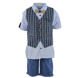 Παιδικό Σετ-Σύνολο Hashtag 214743 Μπλε Γαλάζιο Αγόρι