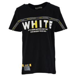 Παιδική Μπλούζα Hashtag 214729 Μαύρο Αγόρι