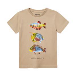 Παιδική Μπλούζα Mayoral 21-03036-020 Μπεζ Αγόρι