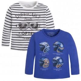 Παιδικό Σετ Μπλούζες Mayoral 4066 Μπλε Αγόρι