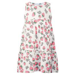 Παιδικό Φόρεμα Energiers 15-221334-7 Εμπριμέ Λευκό Φούξια Κορίτσι