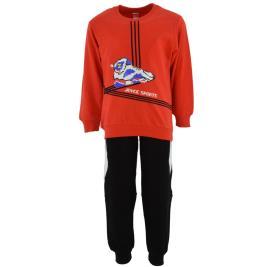 Παιδική Φόρμα-Σετ Joyce 211353 Κόκκινο Αγόρι