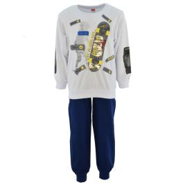 Παιδική Φόρμα-Σετ Joyce 211355 Λευκό Αγόρι