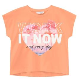 Παιδική Μπλούζα Name It 13189233 Ροδακινί Κορίτσι