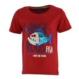 Παιδική Μπλούζα New College 32-901 Κόκκινο Αγόρι