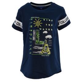 Παιδική Μπλούζα New College 32-9008 Μαρέν Αγόρι