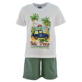Παιδικό Σετ-Σύνολο Trax 39439 Λευκό Αγόρι