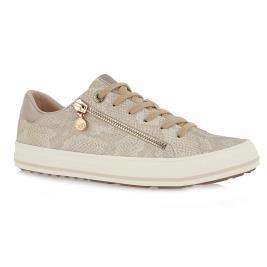 Γυναικείο Sneaker s.Oliver 5-5-23615-26-497 Μπεζ Φίδι