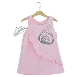 Παιδικό Φόρεμα Joyce 211162 Ροζ Κορίτσι