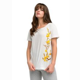 Γυναικεία Μπλούζα Anel 49120 Λευκό
