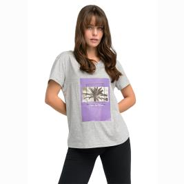 Γυναικεία Μπλούζα Anel 49119 Γκρι