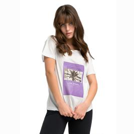Γυναικεία Μπλούζα Anel 49119 Λευκό