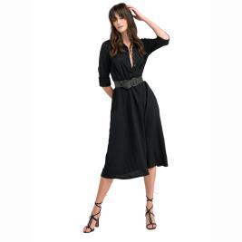 Γυναικείο Φόρεμα Anel 58323 Μαύρο
