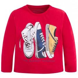 Παιδική Μπλούζα Mayoral 4022 Κόκκινο Αγόρι