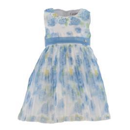 Παιδικό Φόρεμα Εβίτα 214258 Γαλάζιο Κορίτσι