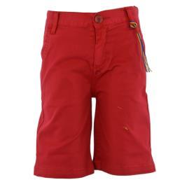 Παιδική Βερμούδα Hashtag 214738 Κόκκινο Αγόρι