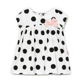 Βρεφικό Φόρεμα Mayoral 21-01809-058 Λευκό Κορίτσι