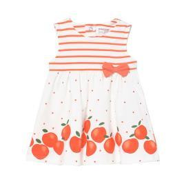 Βρεφικό Φόρεμα Mayoral 21-01811-083 Πορτοκαλί Κορίτσι