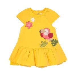 Βρεφικό Φόρεμα Mayoral 21-01838-044 Κίτρινο Κορίτσι