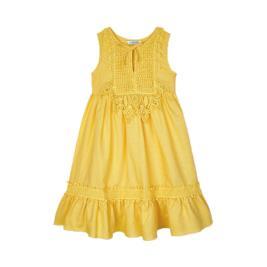 Παιδικό Φόρεμα Mayoral 21-03931-061 Μουσταρδί Κορίτσι