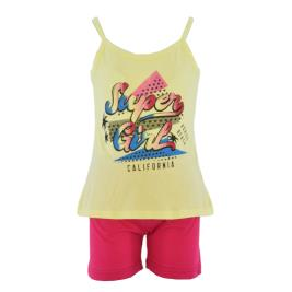 Παιδική Πυτζάμα Dreams 212510 Κίτρινο Κορίτσι