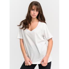 Γυναικεία Μπλούζα Anel 49082 Λευκό