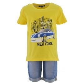 Παιδικό Σετ-Σύνολο New College 32-10202 Κίτρινο Αγόρι